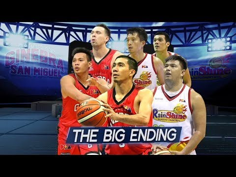HIGHLIGHTS: Ginebra vs. Rain or Shine - 3OT Thriller (VIDEO) March 2