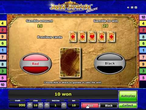 How to win in Just Jewels Deluxe slot at stargames online
