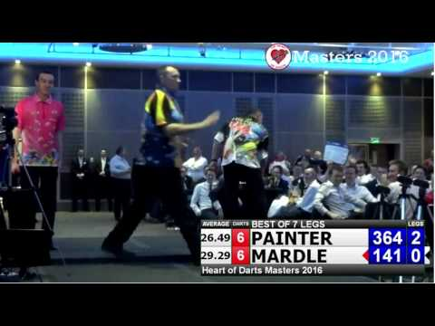 Wayne Mardle Anti-climax 9 Darter Attempt at Exhibition