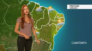 Previsão Nordeste - Muita instabilidade no fim de semana