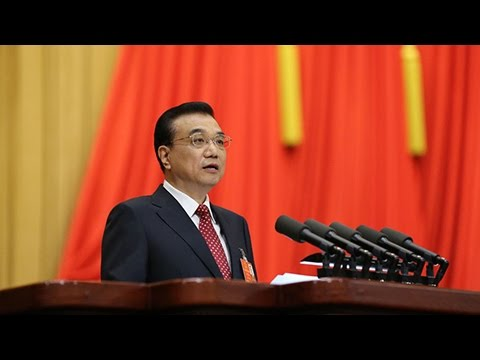 Full video: Premier Li Keqiang delivers government work report