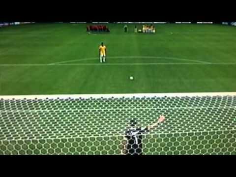 Brazil vs Chile penalty shoot 2014
