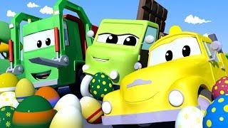 Авто Патруль -  ПАСХА: Яичный вор - Автомобильный Город  🚓 🚒 детский мультфильм