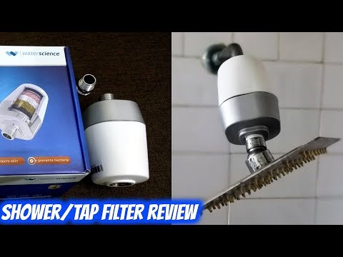 Waterscience Cleo shower / tap filter SFU 717 unboxing and review