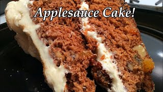 How We Make Applesauce Cake, Best Old Fashioned Southern Cooking Recipes