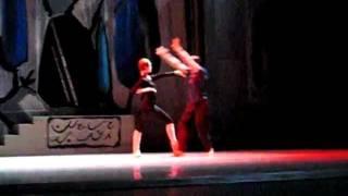 Репетиция балета «Легенда о любви»