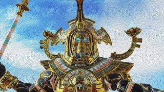 Арена Смерти! Цари Гробниц VS Хаос в Total War Warhammer 2!