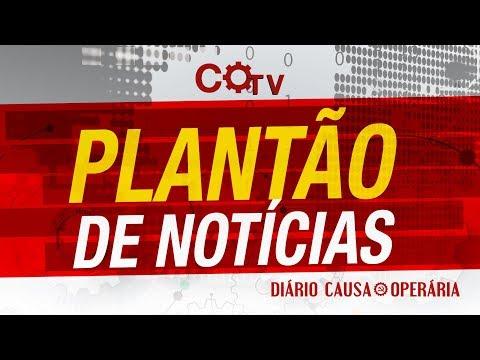 Plantão de notícias - A luta contra a prisão de Lula