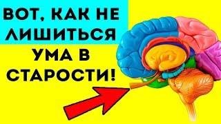 СУПЕРМОЗГ ДО САМОЙ Вот как не лишиться ума в старости Продлишь память если
