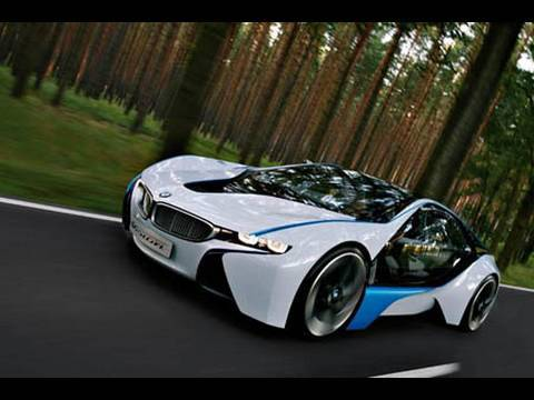 A look at BMWs Vision EfficientDynamics  YouTube