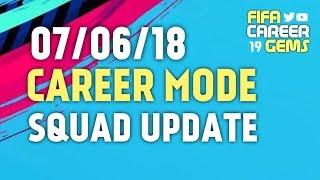 07/06/18 FIFA18 Career Mode Squad Update