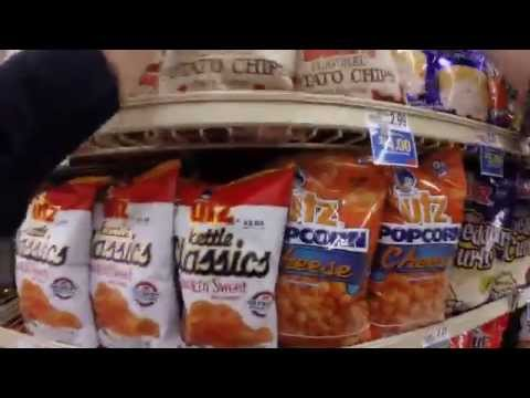 Gopro Pov Utz Quality Foods Salesman Stocking Shelves!
