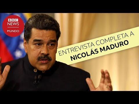 Entrevista completa a Nicolás Maduro en la BBC