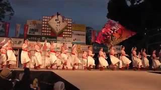 2018年8月12日第20回高知よさこい祭り全国大会高知城演舞YOSAKOI JAPAN ...