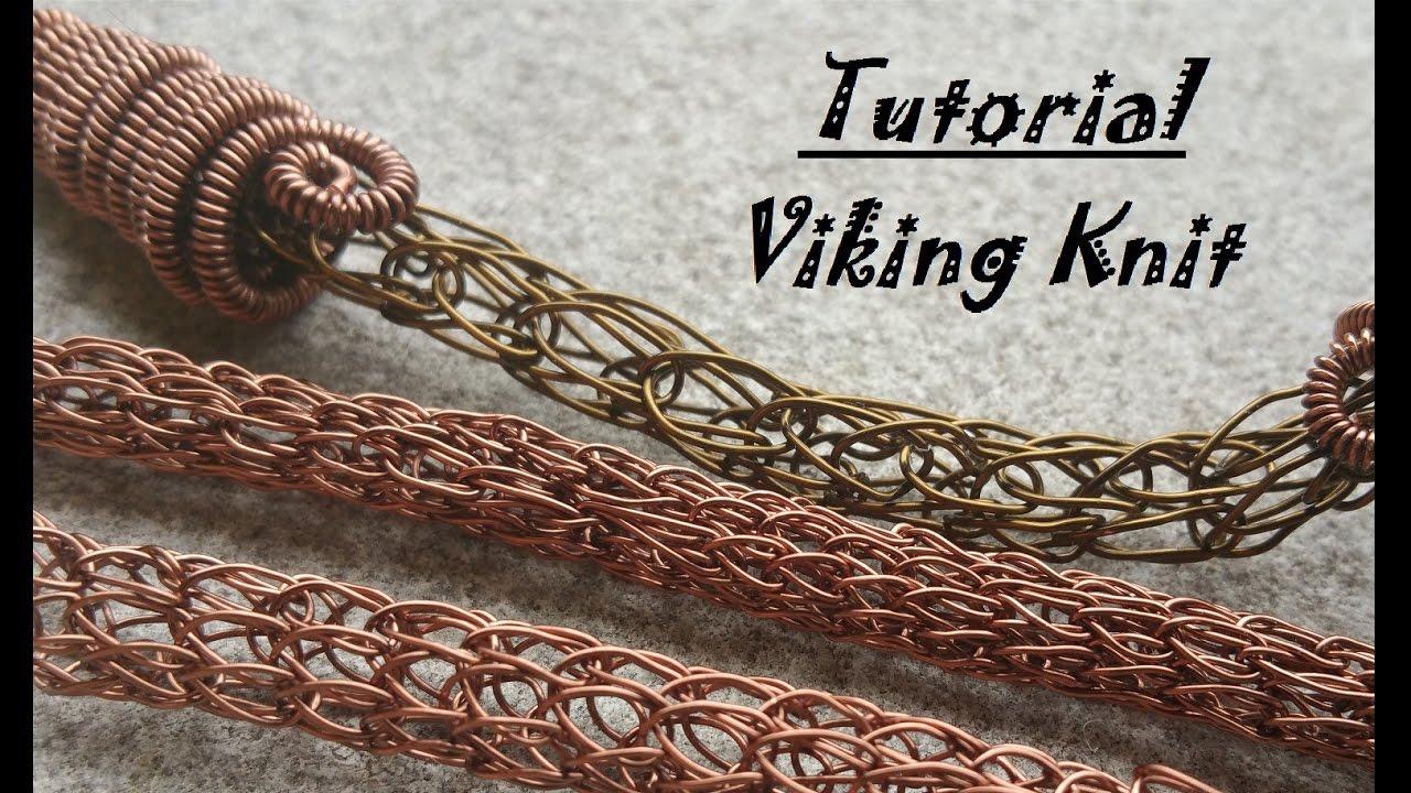 Viking knit Tutorial - YouTube