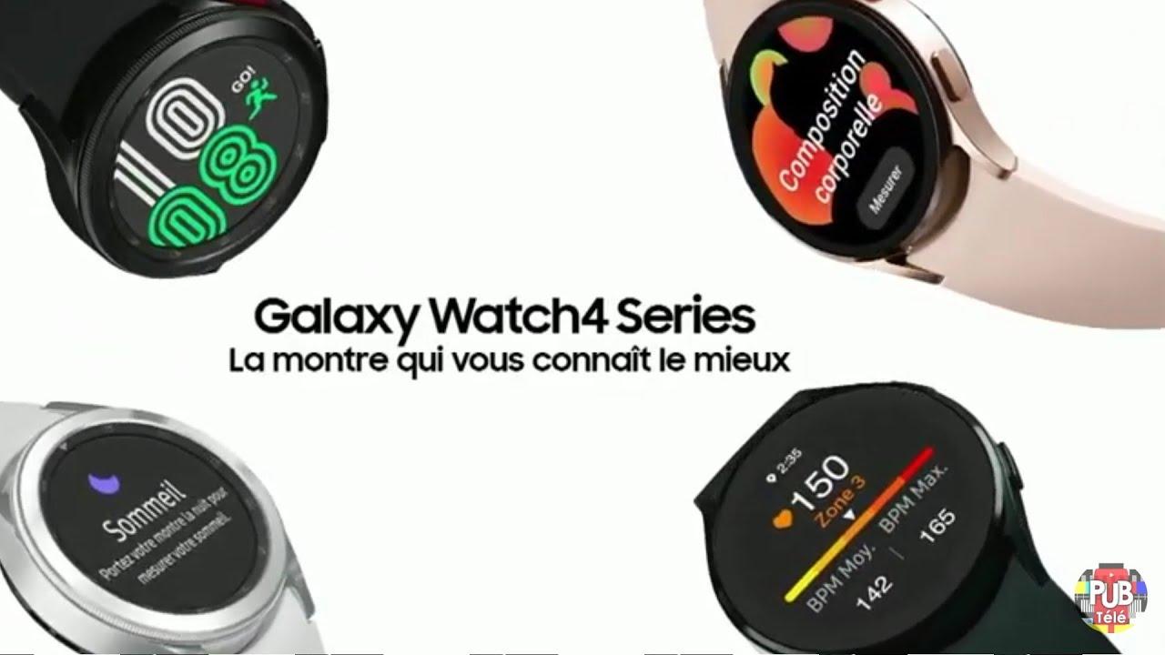 """Musique pub Samsung Galaxy Watch4 Series """"la montre qui vous connaît le mieux""""  juillet 2021"""