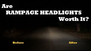 Jeep Headlight Upgrade - RAMPAGE How-to & Review