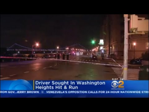 Driver Sought In Washington Heights Hit-And-Run