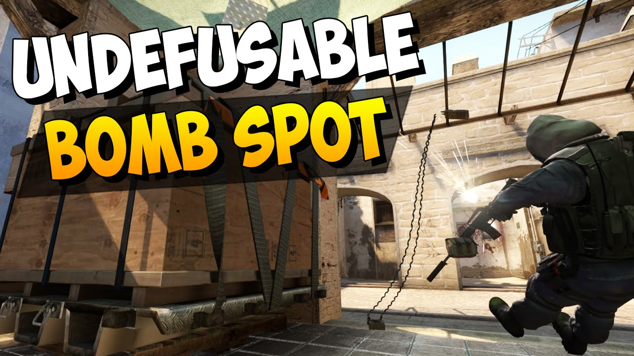 CS:GO - Undefusable Bomb Plant Spot on Mirage! (If done right :D)