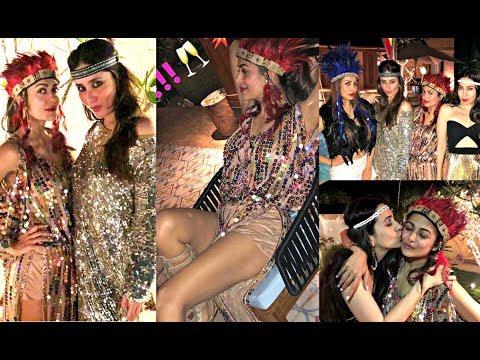 Amrita Arora Birthday Party 2018 With Kareena Kapoor, Malaika Arora Khan, Karishma Kapoor Mp3