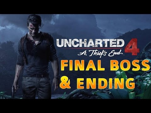 Uncharted 4: A Thief's End - Final Boss & Game Ending (Crushing Difficulty)