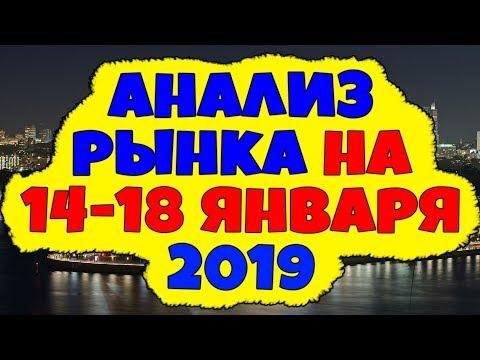 торговля на форекс прогноз на  неделю 14-18 января 2019