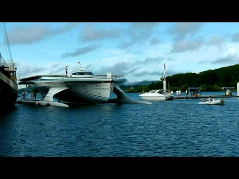 (Phuket) The Turanor (solar-powered boat)