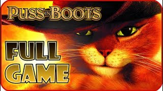 Puss in Boots FULL GAME Movie Longplay (PS3, Wii, XBOX 360)