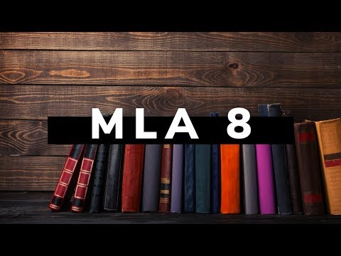 How to Use QuickCite to Create MLA 8 Citations
