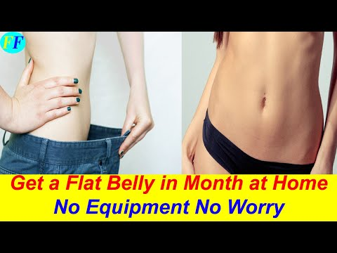 how-to-get-a-flat-stomach-in-a-month-at-home---flat-stomach-workout-for-women---plank-workout-of-abs