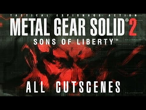 Metal Gear Solid 2: Sons Of Liberty - All Cutscenes