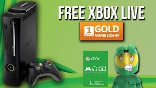 how to get free xbox live gold membership one month free