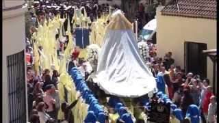 Semana Santa Málaga. Viernes Dolores 2015. Procesión colegio Gamarra (3)