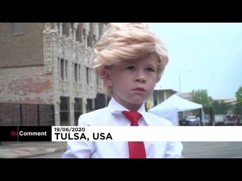 Donald Trump'ın 5 yaşındaki benzeri maske satışında