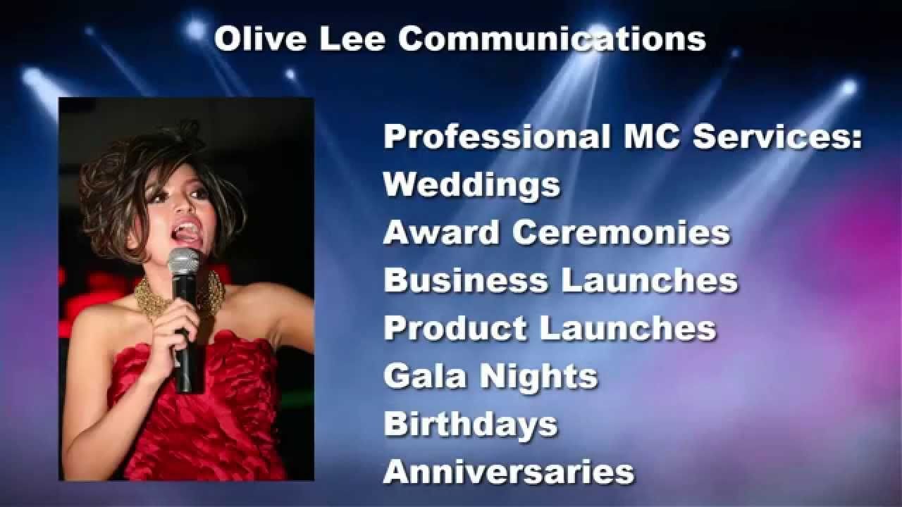 Olive Lee Mc Jakarta Indonesia Master Of Ceremonies Emcee Services Wedding Di You