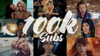 [50+ Songs] Megamix (100k Subs Special) - Katy Perry · Lady Gaga · Calvin Harris... (T10MO)