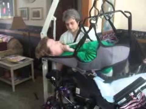 wheelchair hoist fitting instructions