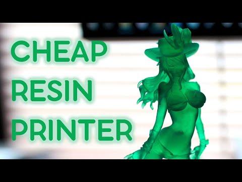 Tianfour T200 - Cheap Large Format SLA Printer