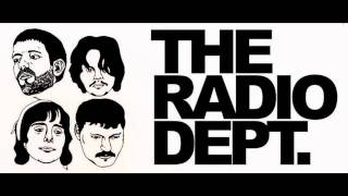 The Radio Dept.    I Don't Like It Like This