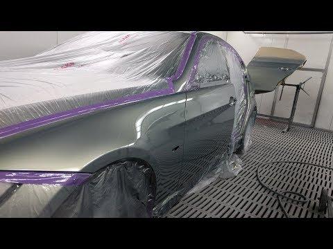 BMW 320, Spray Painting