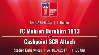 FC Mohren Dornbirn vs Cashpoint SCR Altach (UNIQA ÖFB Cup RD 1)