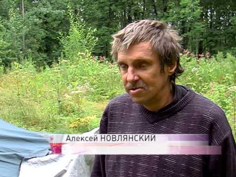 В Петропавловском парке Ярославля поселился бездомный инвалид