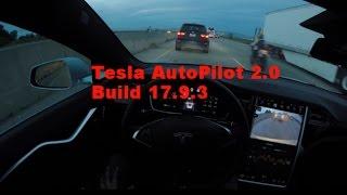 Tesla Model S 90D AutoPilot 2.0 - Build 17.9.3