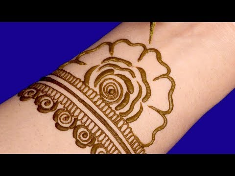 Mehndi Design for Karwa Chauth | Henna Design for Hands @ ekunji #059