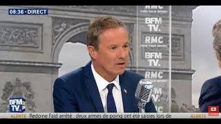 Européennes : Nicolas Dupont-Aignan face à Jean Jacques Bourdin