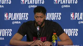 Anthony Davis & Jrue Holiday Postgame Interview | Pelicans vs Warriors Game 5