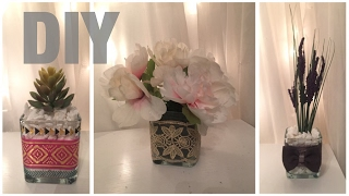 Dollar tree DIY/3 spring floral arrangements
