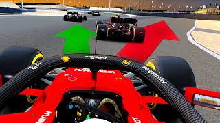 DRIVING THE BAHRAIN OVAL IN 2020 FORMULA 1 CARS! - 2020 Sakhir Grand Prix Race!