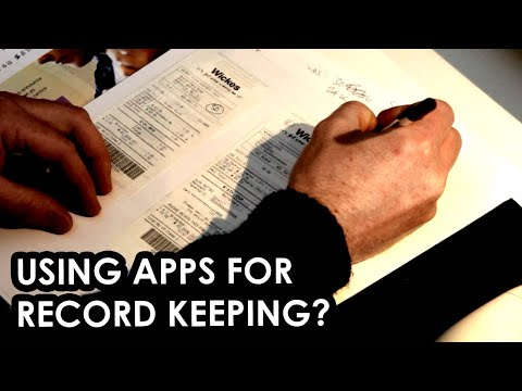 Tax receipts, expenses and record keeping in the UK for self employed folk
