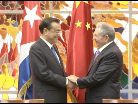 China Pledges to further Promote Bilateral Ties with Cuba: Li Keqiang